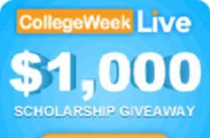 COLLEGE WEEK LIVE Scholarship