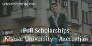 Fully Funded International Scholarship at ADA University