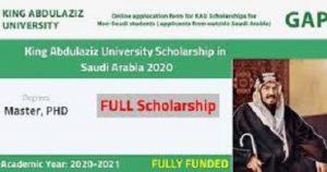 Saudi Arabia Scholarships For International Students
