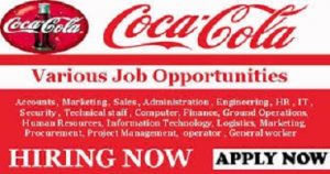 Apply Coca Cola recruitment