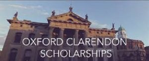 Clarendon Fund Scholarships at University of Oxford
