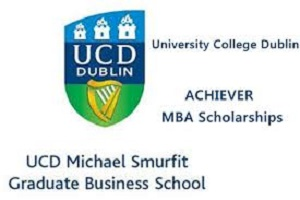 UCD Business School MBA Scholarships