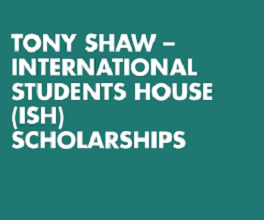 Tony Shaw International Students Scholarship