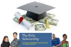 Felix Non- Indian Scholarship 2020 for developing countries