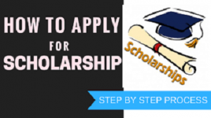 Step by step guides on how to apply and get a scholarship