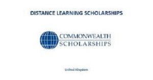 Commonwealth Distance Learning Scholarships 2020