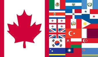travel 25 countries VISA-FREE with Canada visa