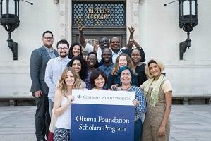 Obama Foundation Scholars Program 2020