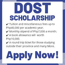 DOST Scholarship 2020