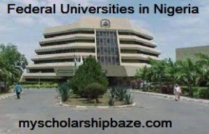 School Fees of Federal Universities in Nigeria