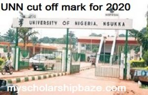 University of Nigeria Nsukka cut off mark
