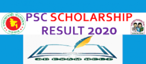 PSC Primary Scholarship Result 2020