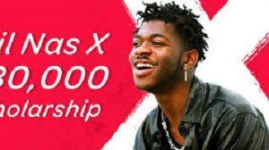 Lil Nas X $30,000 Scholarship