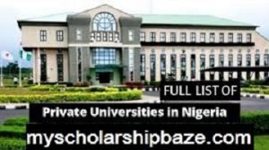 Private Universities in Nigeria