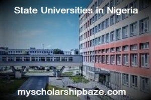 State Universities in Nigeria