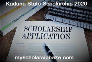 Kaduna State Scholarship 2020