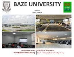 Baze university Admission Application process