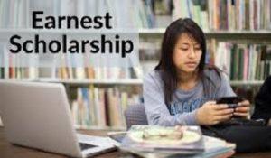 Earnest Scholarship Program USA 2021