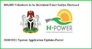 Login To Npower recruitment Portal