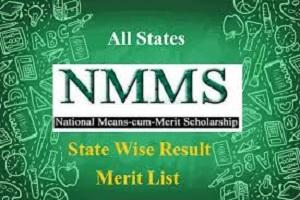 NMMS Result 2020 Kerala