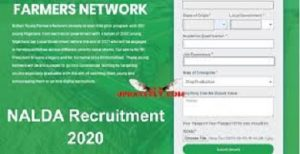 NALDA Recruitment passport upload issue solution