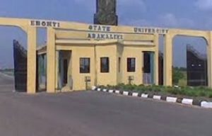 EBSU Departmental Cut off Mark 2020