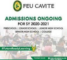 FEU Scholarship 2020