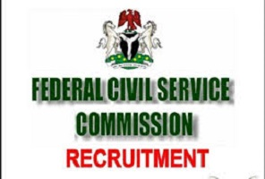 federal civil service commission FCSC Recruitment 2020