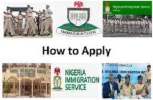 Nigeria Immigration Recruitment 2020
