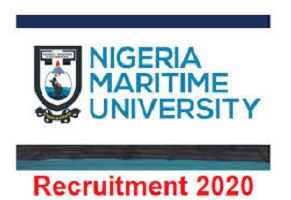 Nigeria Maritime University recruitment 2020