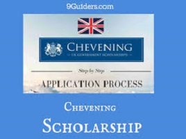 Chevening scholarships 2021