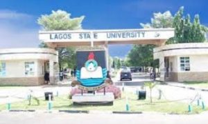 lagos state university cut off mark