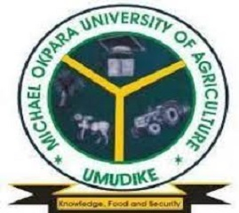 Courses offered at Michael Okpara Uni of agric UMUDIKE