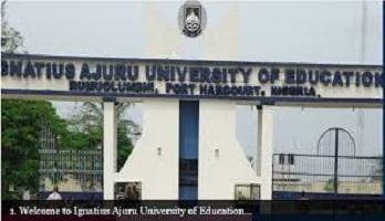 Ignatius Ajuru university IAUE post utme 2021