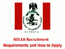 NDLEA Recruitment www.ndlea.gov.ng 2020