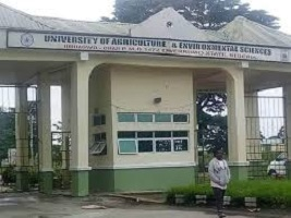 University of Agriculture and Environmental Sciences post utme