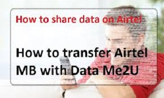 How to transfer data on airtel