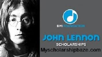 John Lennon Scholarships 2021