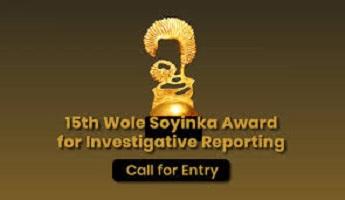 Wole Soyinka Award for Investigative Reporting in Nigeria