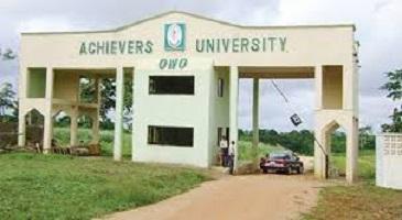 Achievers University Cut off Mark 2021