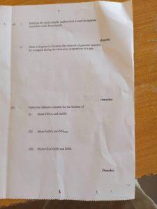 NECO CHEMISTRY PRACTICAL QUESTIONS 2021 – My scholarship Baze