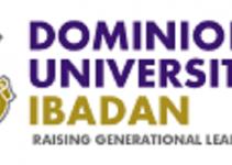 Dominion University, Ibadan school fees for 2021