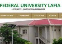 Federal University Lafia school fees