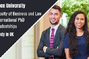 International Ph.D. Studentships In Faculty Of Business And Law In the UK