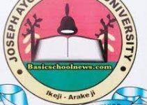 Joseph Ayo Babalola University school fees for 2021