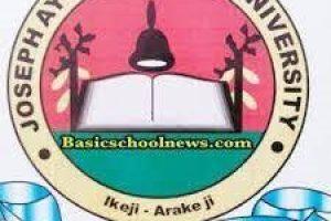 Joseph Ayo Babalola University Cut off Mark for 2021