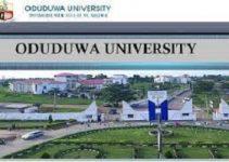 Oduduwa University Cut Off Mark 2021