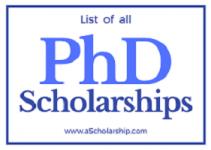 PhD Scholarship For International Students