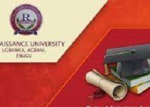 RENAISSANCE UNIVERSITY ENUGU SCHOOL FEES2021