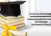 Undergraduate International Scholarships (Computer Science)